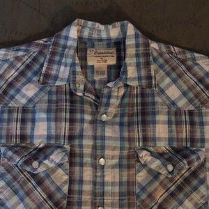 U.S. Expedition Short Sleeve Western Shirt